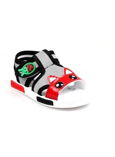Polaris Erkek Çocuk Ilk Adım Ayakkabı Sandelet Siyah